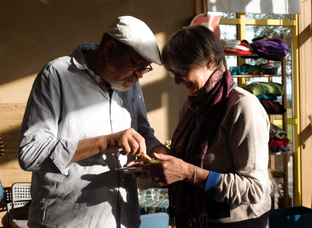 Erling og Lise deler tapas