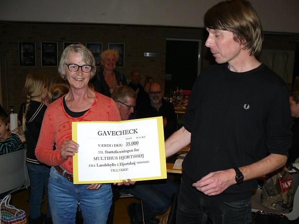 Donation til etablering af multihus i Hjortshøj